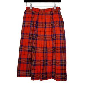 Pendleton Vintage Leslie Tartan Plaid Skirt
